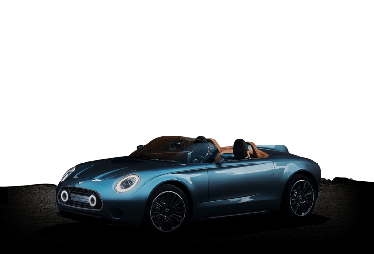 MINI Superleggera Vision spredu diagonálne